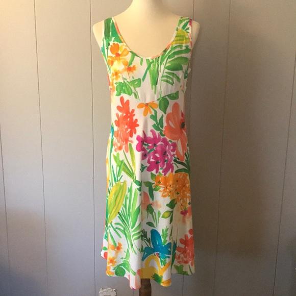 Jams World Dresses & Skirts - HULA Moon By JAMS WORLD Watercolor Rayon Dress S
